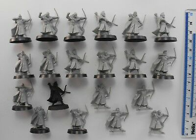 20 WARRIORS OF ROHAN ARCHERS Lord of the Rings LOTR Good Army Warhammer 58
