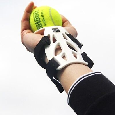 Tennis Consistence Serving Training Correct Wrist Hand Position Consistent Toss