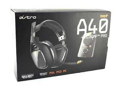Astro Gaming A40 TR Wiresless Headset With MixAmp Pro For PS4 PS3 PC JL234