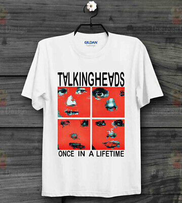 Talking Heads One In A Life Time Remain in Light Rock Cool Unisex T Shirt B382