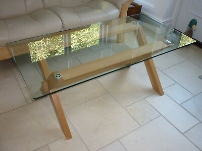 John Lewis Glass Top Coffee Table 5000 Picclick Uk