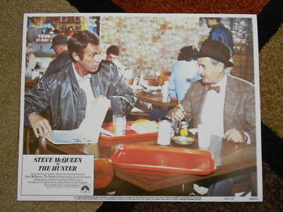 THE HUNTER Vintage 1980 Lobby Card #7 Paramount Pictures Steve McQueen - cool!