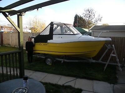 Spectrum 480 Fishing Boat with Trailer and motor