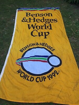 Benson & Hedges World Cup Flag and Cigarette Advertising