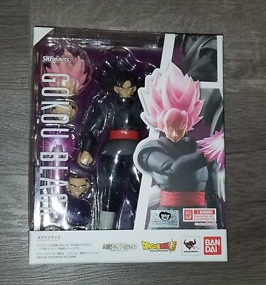 SH Figuarts Goku Black with brown mailer