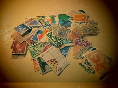 SEPT46  Netherlands lot of aprox 85 stamps