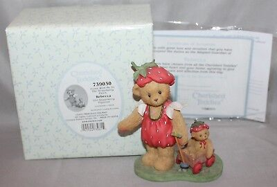 "Cherished Teddies Rebecca ""Come With Me to..."" Figurine #739030 2001 By Enesco"