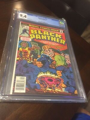 Black Panther 1 Marvel 1st Series  1977 CGC 9.4 LOWEST ON EBAY MAKE ME AN OFFER