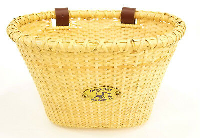 Nantucket Gull Collection Children/'s Bicycle Basket Pink 10/'/'x7.5/'/'x7.5/'/'