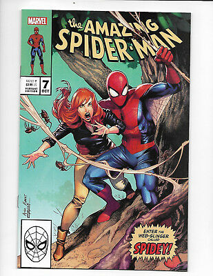 Amazing Spider-Man #7 Jamal Campbell cover. X-Men #266 homage cover. Limited. NM