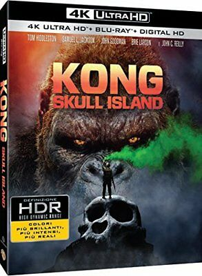 Film - Kong: Skull Island - 2 Dvd (4k ultra hd -  blu-ray)