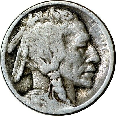 1915-S 5C Buffalo Nickel Good  K5700
