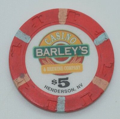 Barley's $5 Casino Chip Henderson Nevada H&C Paul-son Mold