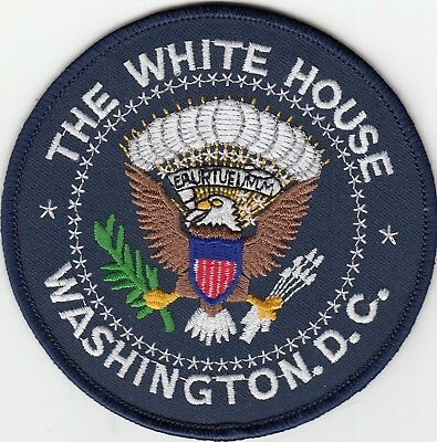 The White House Presidential Seal Washington Dc Dist Of Columbia Police Patch Dc