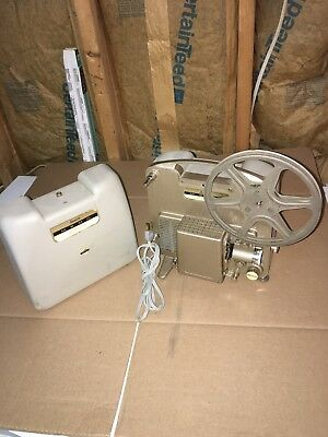 Rare Vintage Ansco Memo 80 8Mm Movie Projector Works