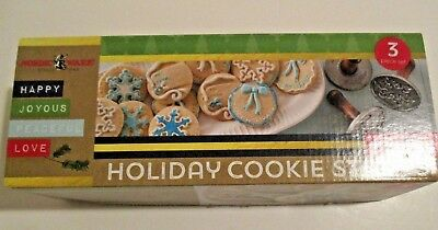 Nordic Ware, Holiday Cookie Stamps Nib