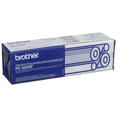 Brother Original PC-302RF Refill Rolls CT2 For 750, 770, 870MC - 235 Pages