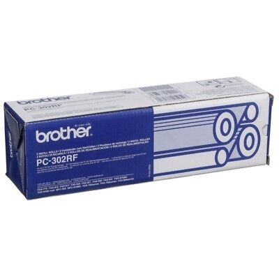 Brother Original PC-302RF Refill Rolls CT2 For 750, 770, 920, 870MC - 235 Pages
