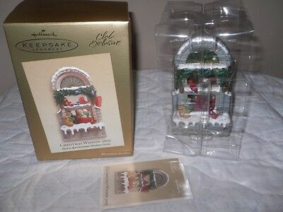 Hallmark Club Exclusive 2003 Christmas Window First In Series