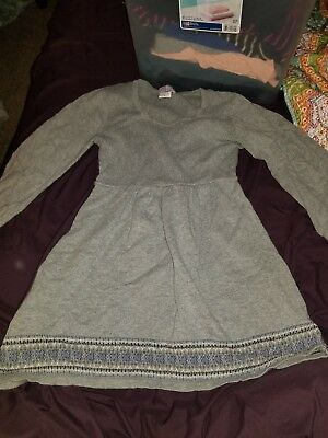 Gray Oh Baby Motherhood 3/4 Sleeve Maternity Sweater- Size small