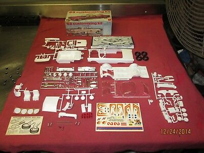 Vintage AMT 1963 Ford Galaxie Convertible* 3 IN 1 Kit* ~ Unassembled  ~ Nice Kit