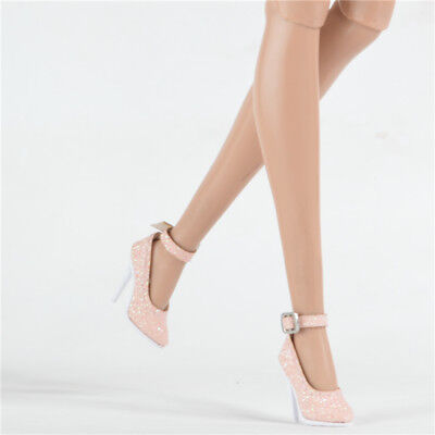 shoes for FR2 Nu Face 2 Jason wu integrity toys doll Sexy heel pumps Pink 28A