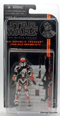 Star Wars The Black Series #31 Republic Trooper with case