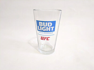 Bud Light UFC Ultimate Fighting Championship Pint Beer Glass