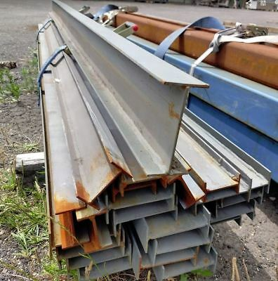 """STEEL H BEAM (""""I"""" BEAM) 102x45mm 2.4mt long. Many other sizes and lengths avail."""
