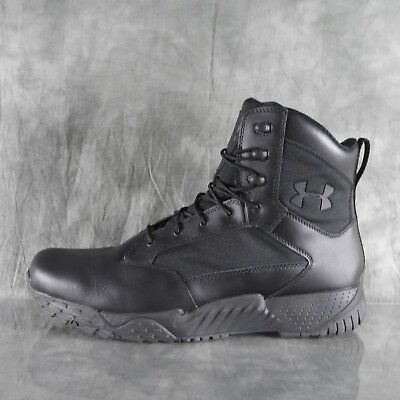 NIB UNDER ARMOUR UA STELLAR TAC 2E 1289001 001 Black Tactical Boots Size 14 ANB