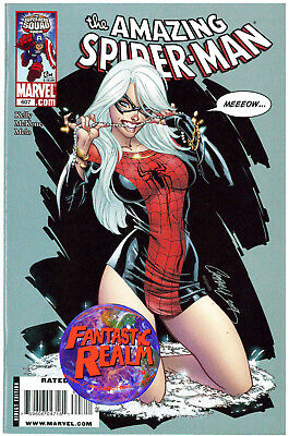 The Amazing Spider-Man #607 J Scott Campbell Exclusive Cover Marvel Comics