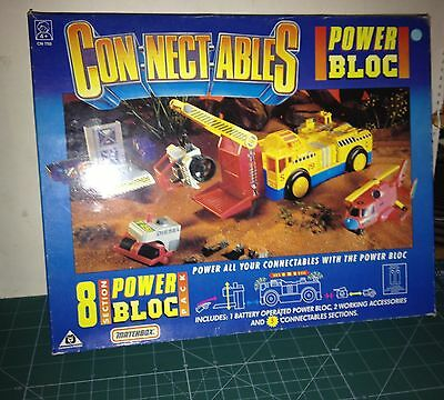 Matchbox Conectables 8 Section Power Bloc Pack  Ver Foto