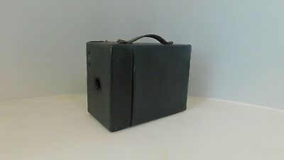 Kodak No 2 Cartridge Hawk-eye Model B 120 Film Antique Box Camera