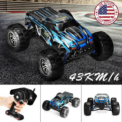 1:12 2.4G 2WD Remote Control Monster Truck Off Road  Race Car Toy RTR RC 43KM/H