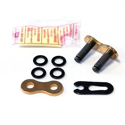 DID Gold X-Ring Split Link 520VX2 FJ Spring Clip For 520 Motorcycle Chain