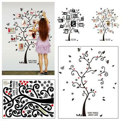 DIY Frame Tree Wall Stickers Room Vintage Poster Wall Art Decals Home Decor