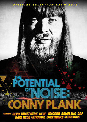 The Potential of Noise: Conny Plank DVD (2018) Reto Caduff ***NEW***