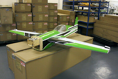 MODEL PETROL R/C Aeroplane Parts+Engine sc53-Engine Included