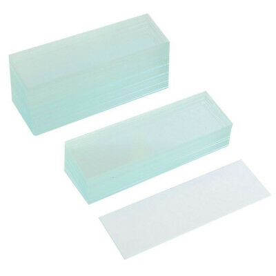 A3S9 50 Pcs Pre-Cleaned Microscope Blank Glass Slides 1X3 Inch E9K9