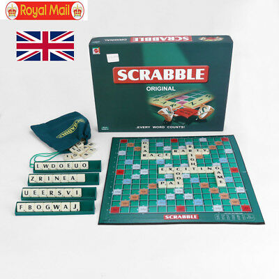 Original Scrabble Board Game Family Kids Adult Educational Toys Puzzle Game UK