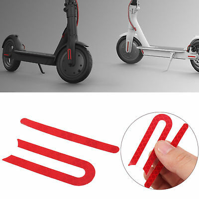 Wheel Rubber Reflective Stickers Decals For Xiaomi Mijia M365 Electric Scooter H