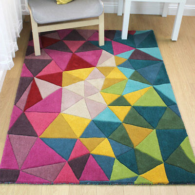 Prism 100% Wool Hand Tufted Rug