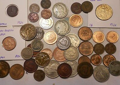 portugal lot of 44 coins some key dates - excelent lot!!!!!!!!!!!!!!!!!!!!!!!!!!