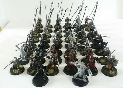 games workshop  Lord of the rings plastic uruk hai force