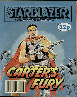 Carter's Fury,starblazer Fantasy Fiction In Pictures,comic,no.272,1990