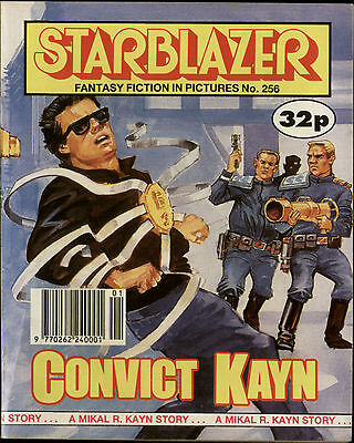 Convict Kayn,starblazer Fantasy Fiction In Pictures,comic,no.256,1990