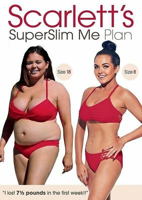Scarlett's Superslim Me Plan DVD Fitness Video Home New Boxed Free Postage