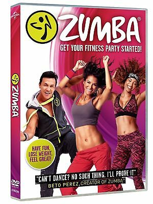 Zumba DVD, Get Your Fitness Party Started! Workout Fitness Exercise NEW