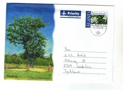 2004 Aland - Trees/flowers Airmail Fdc From Collection Z1/24