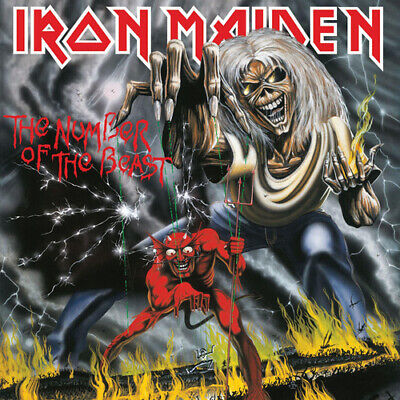 Iron Maiden : The Number of the Beast CD (2018) ***NEW***